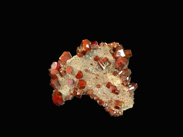 Vanadinite (Morocco - Mibladen)