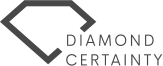 Diamond certainity logo