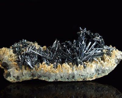 Antimonite - Romania, Baia Sprie