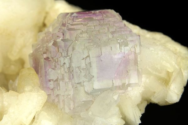 Fluorit, kalcit - Čína, Shangbao