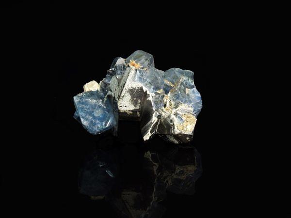 Fluorit na morionu - Rusko, Bykov, Sibiř