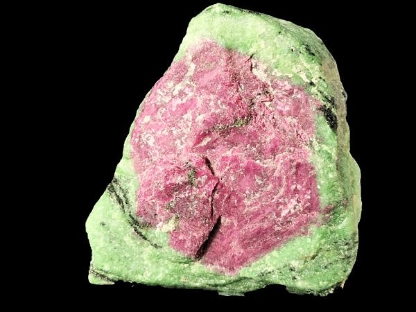 Ruby in zoisite (var. 'anyolit') - Mundarara mine, Longido (Arusha), Tanzania