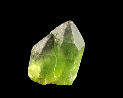 Olivine with ludwigite inclusions. Naran, Pakistan