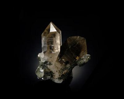 Smoky quartz - Dodo Mine, Saranpaul, Russia